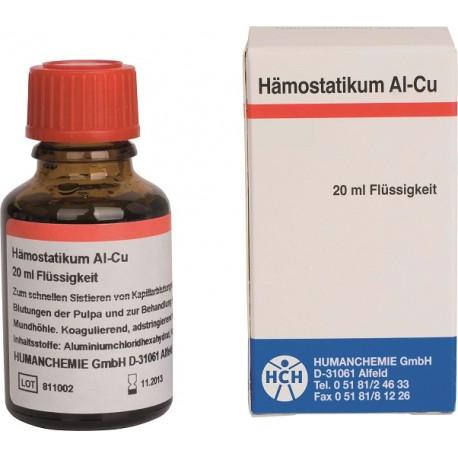 Hemostatikum Al-Cu