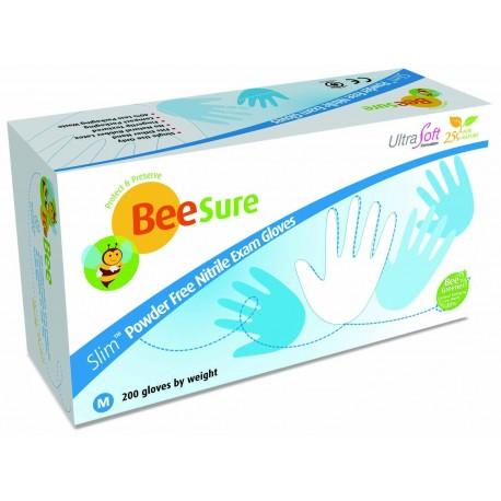 Nitrilové rukavice Ultra SOFT (biele) 200ks XS